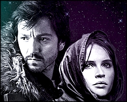 Cassian Andor & Jyn Erso - fanart not made by me